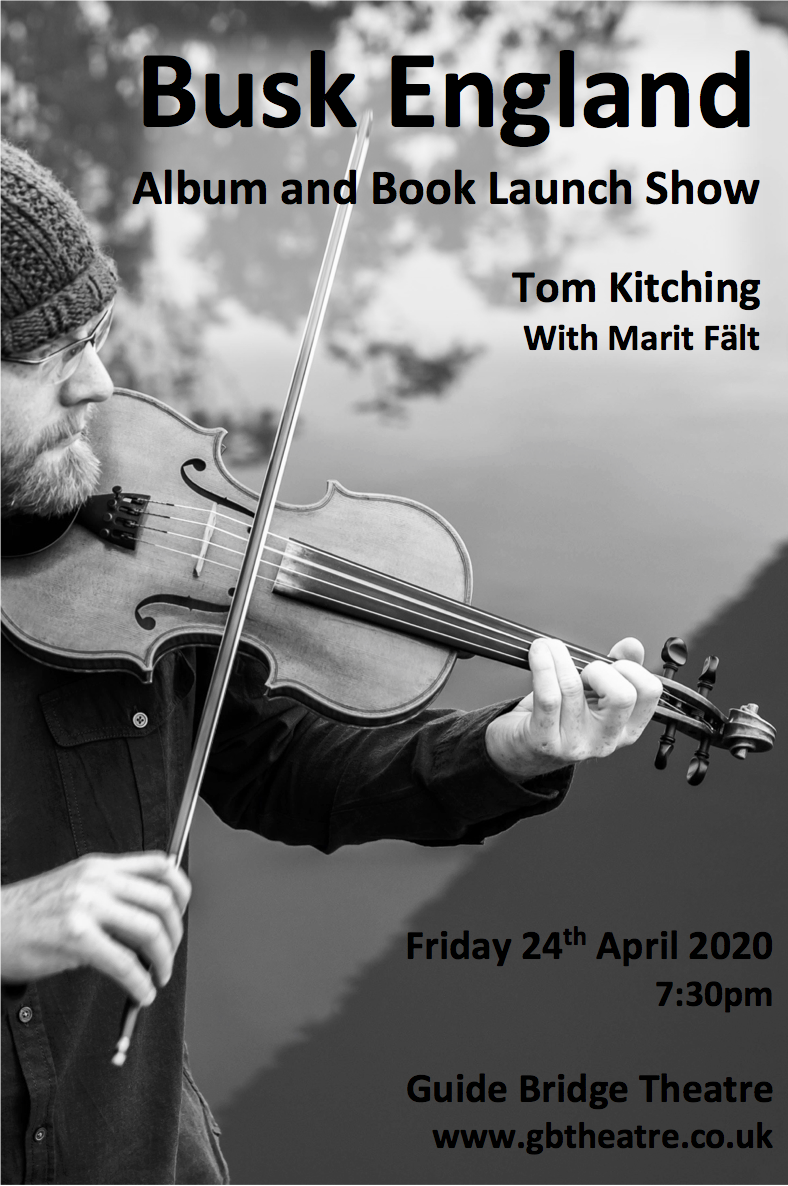 An Evening with Tom Kitching - Friday 27th September 2019